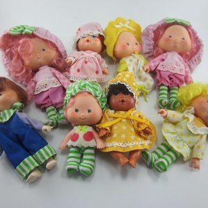 Strawberry Shortcake dolls lot of 8